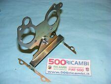 FIAT 500 F/L/R 126 STAFFA CARTER SUPPORTO CARBURATORE DOPPIO WEBER 32 E SOLEX 32