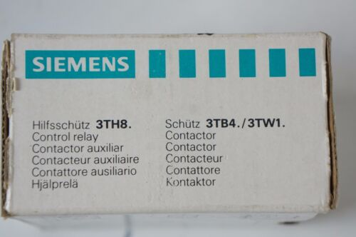 Siemens 3 TH 80 22-0AM0 Hilfschütz NOS in OVP ungebraucht S918