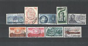 B9385 - Italia 1956 - Lotto Usati Differenti Dall'annata - Vedi Foto