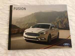 Image Is Loading 2018 Ford Fusion 36 Page Original S Brochure