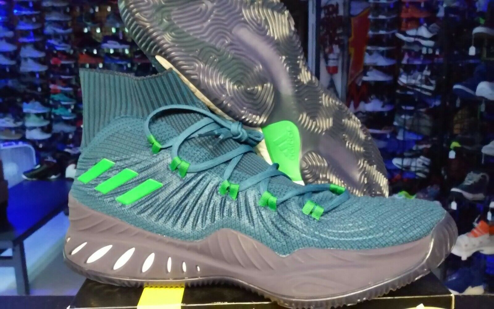 Adidas Crazy Explosive Wiggins basketball shoe sz 14 pe