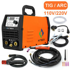 Hitbox Tig Welders 110v220v 200 Pluse Arc Tig Welding Machine Digtal Tig Torch