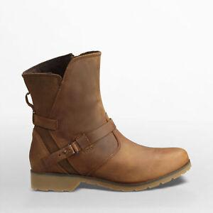 Leder Delavina Low Zu Braun Neu Stiefeletten Damen Boots Details Gr36 Teva Stiefel 38 mNvwy8n0OP