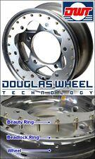 (4) Scalloped Beauty Rings For 15 Inch Douglas Or Latest Rage Beadlock Wheels