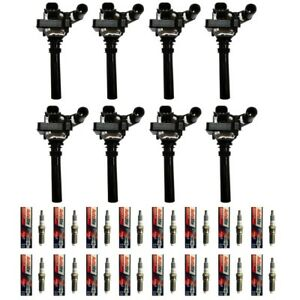 Autolite-XP5263-Iridium-XP-Spark-Plugs-16-8-Premium-Ignition-Coils-UF378