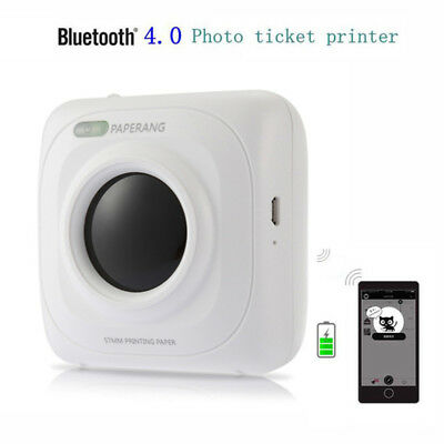 Portable Bluetooth Thermal Photo Printer Cordless Phone Printer For Android IOS
