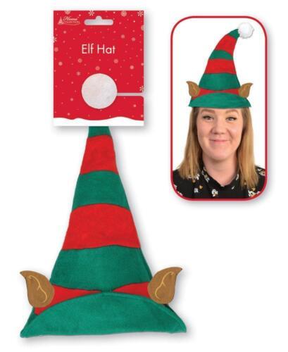 Cappello di Natale /& Fasce Natale Decorazioni Babbo Natale Elfi Headwear divertenti novità