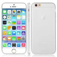 WHITE TPU GEL FOR APPLE iPhone 6G 0.3MM ULTRA THIN CASE COVER -UK