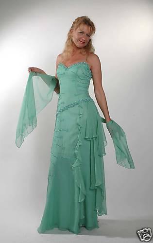 Robe de soirée robe de mariée robe de mariée robe de bal taille au choix tenues de soirée 38 - 44 g04