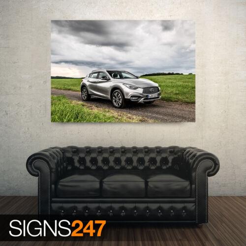 2016 INFINITI QX30 2.2D Photo Poster Print Art * All Sizes AC588 CAR POSTER
