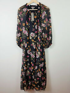SUSSAN-Womens-Floral-Print-Dress-NEW-TAGS-Size-AU-14-or-US-10