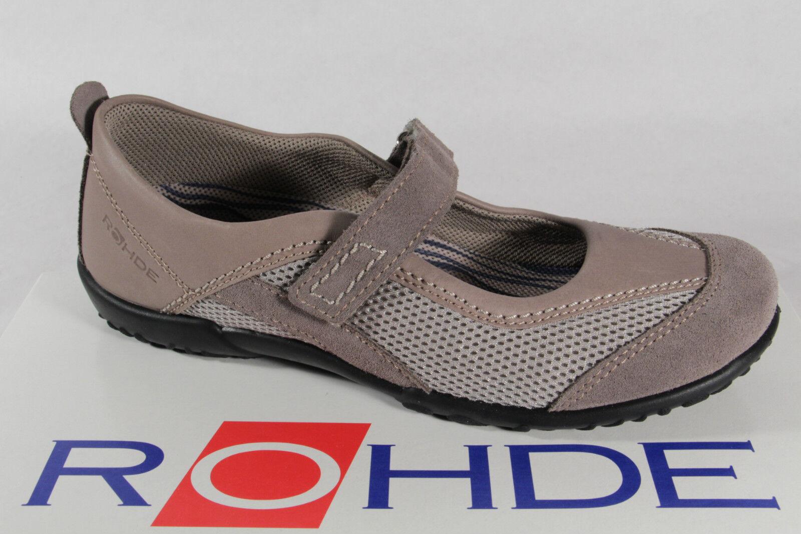 acquista online oggi Rohde Rohde Rohde Pantofola con Wechselußbett per Solette Adatte, Grigio Beige Nuovo  80% di sconto