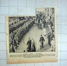 1925 Chang Tso-lin Troops In Shanghai Control Woosung District