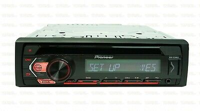 MOSFET 50W x 4 Amplifier /& USB Pioneer CD  In-Dash Receiver w// Bluetooth