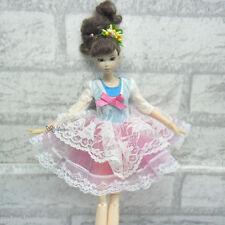 Blythe Momoko Pullip Obitsu DAL 1/6 Bjd Doll Fashion Outfit European Lace Dress