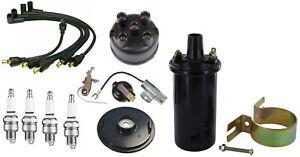 Super H Tractor IH Distributor 6V Coil /& Tune Up Kit IH Farmall H HV