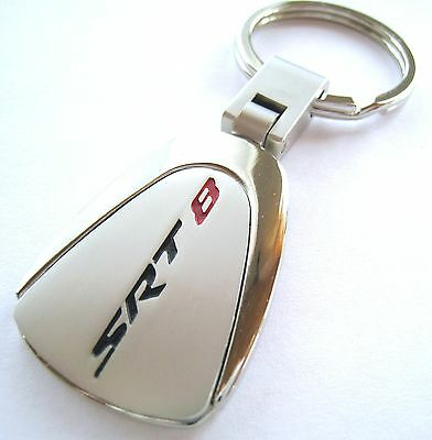 SRT-8 KEY CHAIN RING FOB CHRYSLER 300 HEMI DODGE CHARGER CHALLENGER on cadillac keychain, gmc keychain, mercedes keychain, jeep wrangler keychain, mini cooper keychain, fiat 500 keychain, shelby mustang keychain,