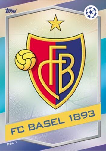 FC BASEL 1893-16//17 Match Attax Champions League 2016//17