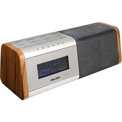 Bush BCR35DABW DAB+ Digital and FM Radio