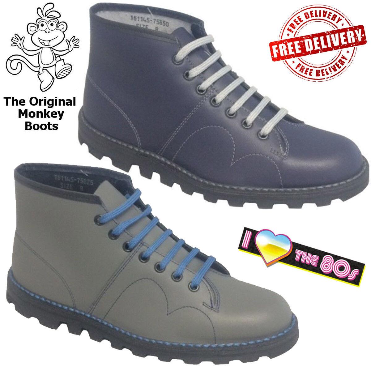 Original Monkey Boots Grafters Men's Women's Retro Leather shoes Unisex