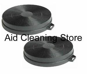 2x CARBON anti-odore Cappa Filtri per CDA ECH61 ECH71 ECH91 2A6848