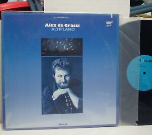 ALEX-de-GRASSI-034-Altiplano-034-RARE-NM-1987-NOVUS-LP-Jazz-ZAKIR-HUSSAIN-CHRIS-PARKER