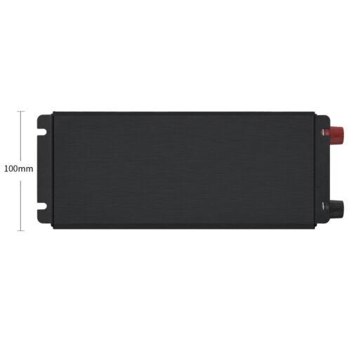 5000W Car Power Inverter DC 12 To AC 110V Sine Wave LED Converter W// LED Display
