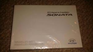 hyundai sonata owners manual user guide  french
