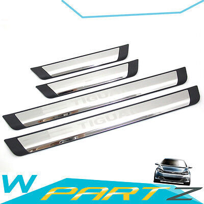 Door Sills Sill Scuff Plate Protector for VW Volkswagen Tiguan 09 - 16 vw36