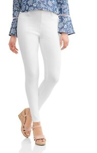 3ba0fe621bf80 Time and Tru Women's Full Length Soft Knit Color Pull On Jegging ...