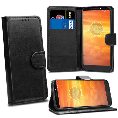 Para Samsung Galaxy A5 A6 A8 2018 Premium Libro Funda tipo Billetera Abatible de Cuero