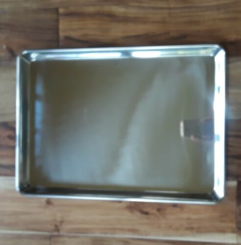 Bake Pan 9.5 x 13x 1 Stainless Steel Libertyware SP913SS Heavy Weight