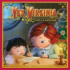 YES VIRGINIA THERE IS A SANTA CLAUS Book NEW Christmas Holiday Children Plehal