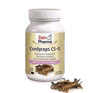 Cordyceps-CS-4-120-Kapseln-500mg-Cordyceps-Sinensis-Extrakt-Raupenpilz-Capseln