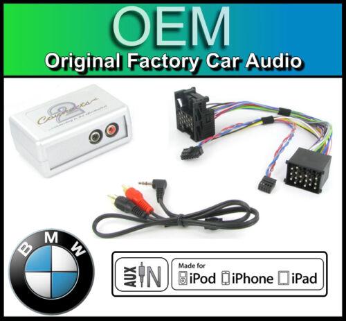 Bmw Serie 3 E46 Aux En Plomo Auto Estéreo Ipod Iphone PLAYER adaptador de conexión