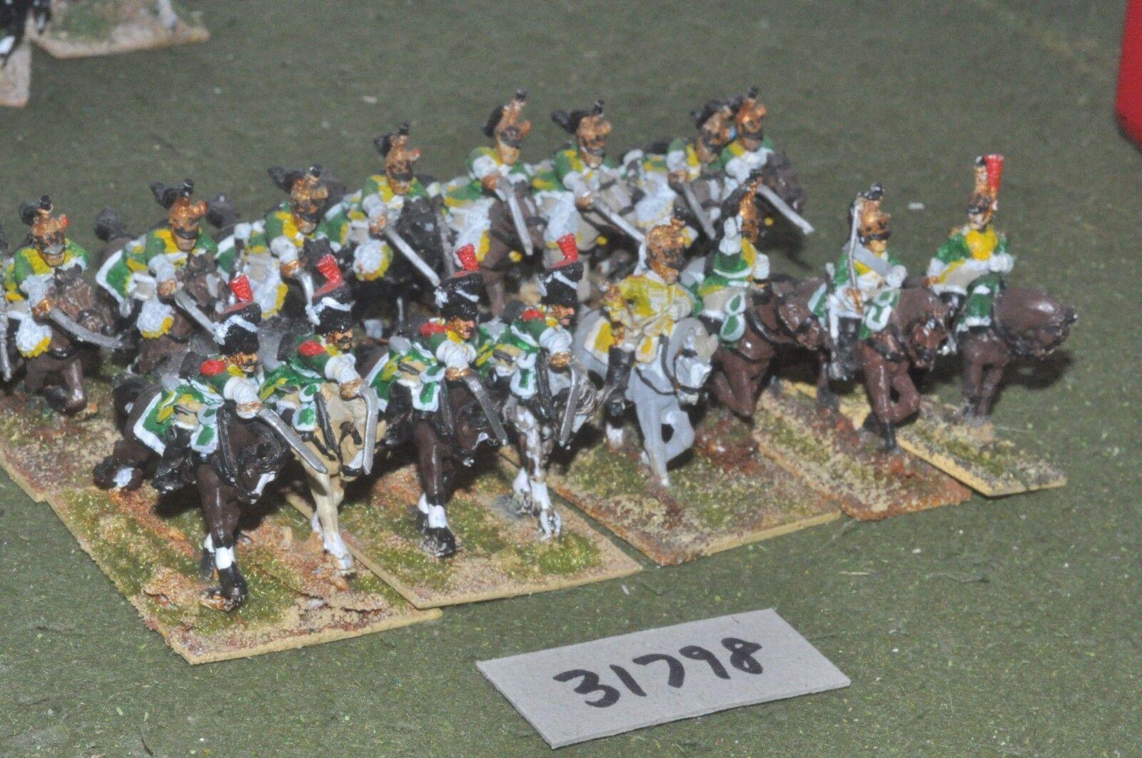 25mm napoleonic   french - guard dragoons 16 figures - cav (31798)