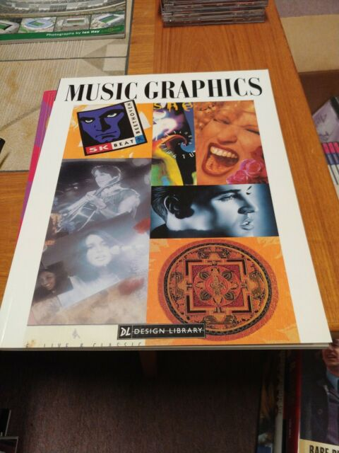 Music Graphics (Design Library) by Stephen Knapp 1996