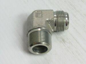 Parker 6 GTX-S Female Adapter 3//8 JIC X 1//4 NPT Female Steel