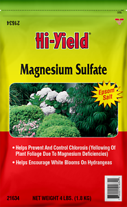 Image Is Loading Hi Yield Magnesium Sulfate 4 Lb Agricultural Epsom