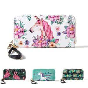 Women-Long-Leather-Wallet-Clutch-Purse-Card-Holder-Phone-Zipper-Handbag