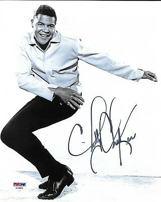 Entertainment Memorabilia Industrious Chubby Checker The Twist Authentic Signed 8x10 Auto Photo Psa/dna a Music