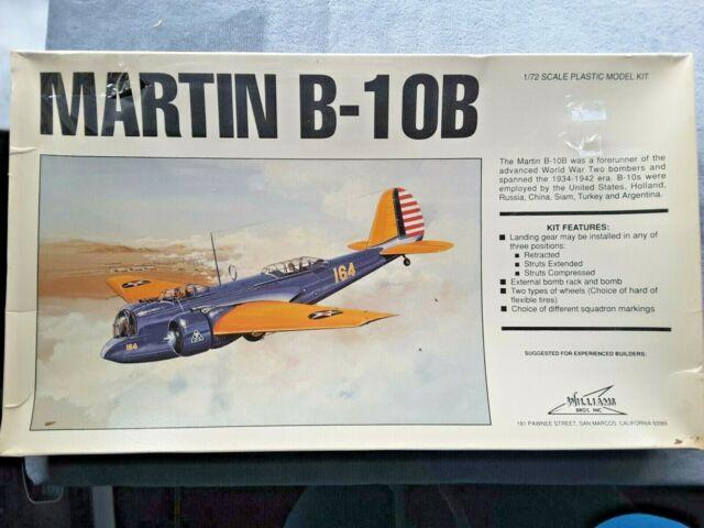 Martin B-10b 1 72 Williams Model Airplane Kit 72-210 for sale ...