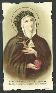 image-pieuse-ancianne-de-Santa-Veronica-Juliani-holy-card-santino-estampa