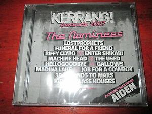 Kerrang-Awards-2007-CD-neu-OVP-Gallows-30-scnds-Biffy-Clyro-Funeral-faf-uvm