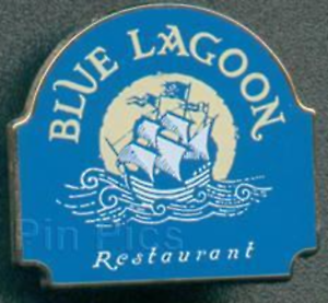 Disney-Pin-11615-Blue-Lagoon-Restaurant-DLRP-Disneyland-Resort-Paris-Exclusive