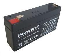 WKA6-1.3F 6 Volt 1.2 Amp SLA Sealed Lead Acid Rechargeable Battery  2 Yr warnty