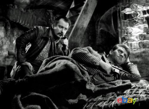 PHOTO PORTE DES LILAS 11X15 CM  # 3 GEORGES BRASSENS /& HENRI VIDAL