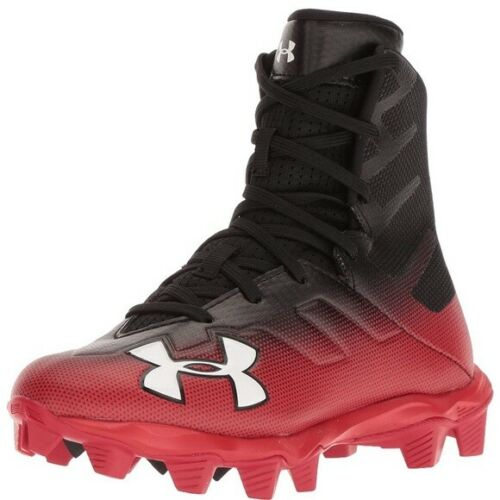 3000195-003 Football Cleats Size 3Y Free Shipping Under Armour Highlight RM JR