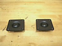 Mcm Audio 53-1060 1 Tweeter, 2 X 2, 8 Ohm, 5 Watt, Soft Dome (pair)