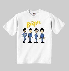 38f7921b3 the beatles cartoon t-shirt mod 3 t shirt toddler clothing boy girl ...